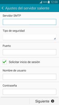 Samsung N910F Galaxy Note 4 - E-mail - Configurar correo electrónico - Paso 12