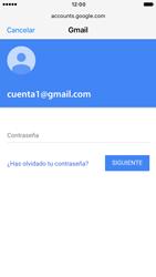 Apple iPhone 6s iOS 10 - E-mail - Configurar Gmail - Paso 7