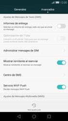 Huawei Ascend G7 - MMS - Configurar el equipo para mensajes de texto - Paso 7