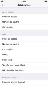 Apple iPhone 8 Plus - Internet - Configurar Internet - Paso 7