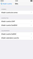 Apple iPhone 6 iOS 8 - E-mail - Configurar correo electrónico - Paso 6