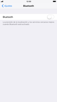 Apple iPhone 7 Plus iOS 11 - Connection - Conectar dispositivos a través de Bluetooth - Paso 4