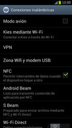 Samsung I9300 Galaxy S III - Red - Activar o desactivar el modo avión - Paso 5