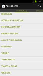 Samsung I9300 Galaxy S III - Aplicaciones - Descargar aplicaciones - Paso 13