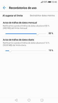 Huawei P10 Plus - Internet - Ver uso de datos - Paso 12