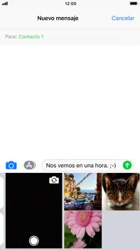 Apple iPhone 8 Plus - MMS - Escribir y enviar un mensaje multimedia - Paso 10