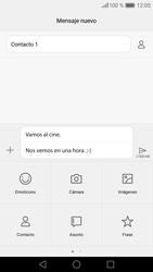 Huawei P9 Lite - MMS - Escribir y enviar un mensaje multimedia - Paso 13