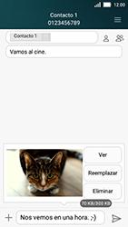 Huawei Y5 - MMS - Escribir y enviar un mensaje multimedia - Paso 17