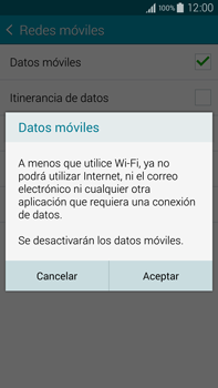 Samsung N910F Galaxy Note 4 - Internet - Activar o desactivar la conexión de datos - Paso 7