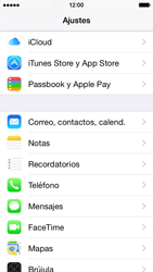 Apple iPhone 6 iOS 8 - E-mail - Configurar Outlook.com - Paso 3