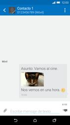HTC One M9 - MMS - Escribir y enviar un mensaje multimedia - Paso 19