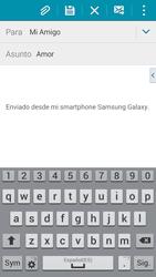 Samsung G900F Galaxy S5 - E-mail - Escribir y enviar un correo electrónico - Paso 9