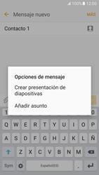 Samsung Galaxy S7 - MMS - Escribir y enviar un mensaje multimedia - Paso 14