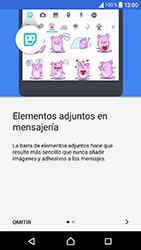 Sony Xperia XA1 - MMS - Escribir y enviar un mensaje multimedia - Paso 4