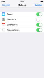 Apple iPhone 6 iOS 10 - E-mail - Configurar Outlook.com - Paso 9