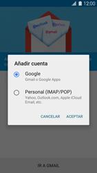Samsung G900F Galaxy S5 - E-mail - Configurar Gmail - Paso 7