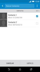 HTC One M8 - MMS - Escribir y enviar un mensaje multimedia - Paso 8