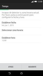 HTC One M8 - Primeros pasos - Activar el equipo - Paso 9