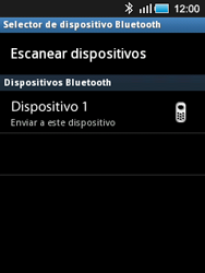 Samsung S5570 Galaxy Mini - Connection - Transferir archivos a través de Bluetooth - Paso 10