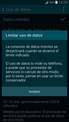 Samsung G850F Galaxy Alpha - Internet - Ver uso de datos - Paso 9