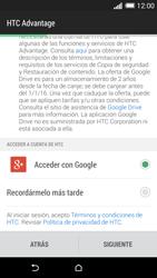 HTC One M8 - Primeros pasos - Activar el equipo - Paso 10