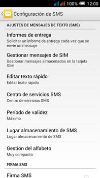 Alcatel Pop C9 - MMS - Configurar el equipo para mensajes de texto - Paso 7