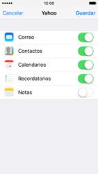 Apple iPhone SE - E-mail - Configurar Yahoo! - Paso 8