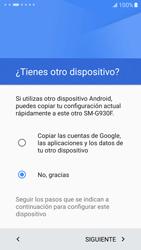 Samsung Galaxy S7 - Primeros pasos - Activar el equipo - Paso 9