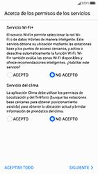 Huawei P10 - Primeros pasos - Activar el equipo - Paso 9