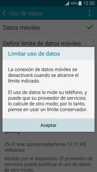 Samsung N910F Galaxy Note 4 - Internet - Ver uso de datos - Paso 9