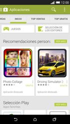 HTC One M8 - Aplicaciones - Descargar aplicaciones - Paso 5