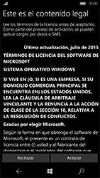 Microsoft Lumia 950 - Primeros pasos - Activar el equipo - Paso 9