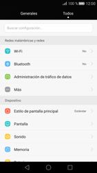 Huawei P8 - Internet - Configurar Internet - Paso 3