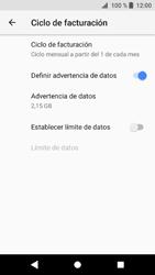 Sony Xperia XZ1 - Internet - Ver uso de datos - Paso 7