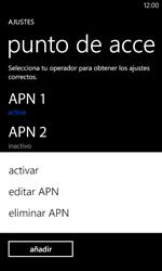 Nokia Lumia 520 - MMS - Configurar el equipo para mensajes multimedia - Paso 17
