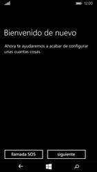 Microsoft Lumia 535 - Primeros pasos - Activar el equipo - Paso 6