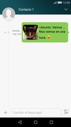Huawei P8 Lite - MMS - Escribir y enviar un mensaje multimedia - Paso 18