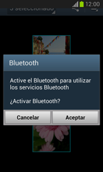 Samsung I8260 Galaxy Core - Connection - Transferir archivos a través de Bluetooth - Paso 11