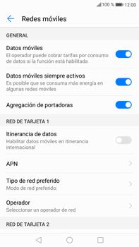 Huawei Mate 9 - MMS - Configurar el equipo para mensajes multimedia - Paso 5
