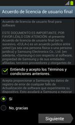 Samsung I8260 Galaxy Core - Primeros pasos - Activar el equipo - Paso 8