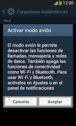 Samsung S7580 Galaxy Trend Plus - Red - Activar o desactivar el modo avión - Paso 6