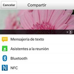BlackBerry Q5 - Connection - Transferir archivos a través de Bluetooth - Paso 8