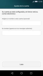 Huawei P8 Lite - E-mail - Configurar correo electrónico - Paso 19