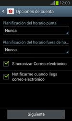 Samsung I8260 Galaxy Core - E-mail - Configurar correo electrónico - Paso 18
