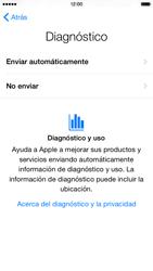 Apple iPhone 6 iOS 8 - Primeros pasos - Activar el equipo - Paso 20