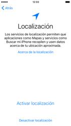 Apple iPhone 6s iOS 10 - Primeros pasos - Activar el equipo - Paso 9