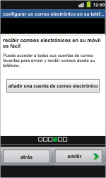 Samsung I8160 Galaxy Ace II - Primeros pasos - Activar el equipo - Paso 9