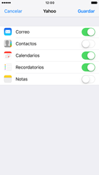Apple iPhone 6s iOS 10 - E-mail - Configurar Yahoo! - Paso 8