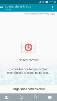 Samsung N910F Galaxy Note 4 - E-mail - Configurar correo electrónico - Paso 4