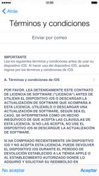 Apple iPhone 6 iOS 8 - Primeros pasos - Activar el equipo - Paso 15
